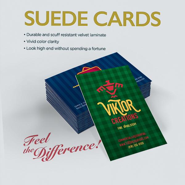 SUEDE CARDS