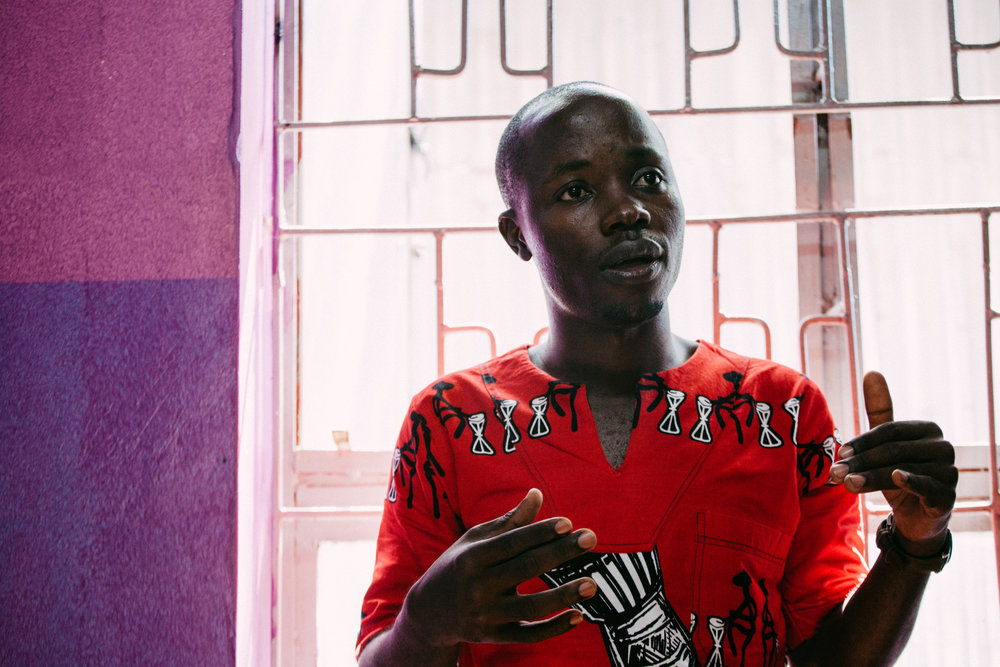 Bukenya Muusa, photo by Arnelle Lozada