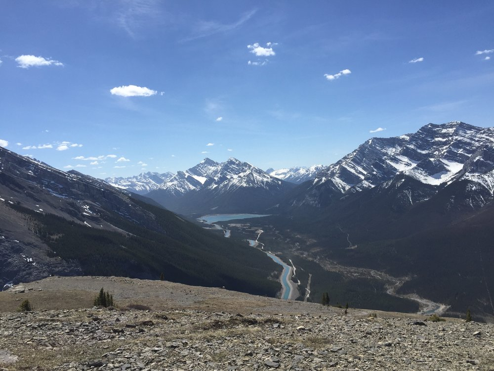 View from  Ha-Ling Peak  in Canmore