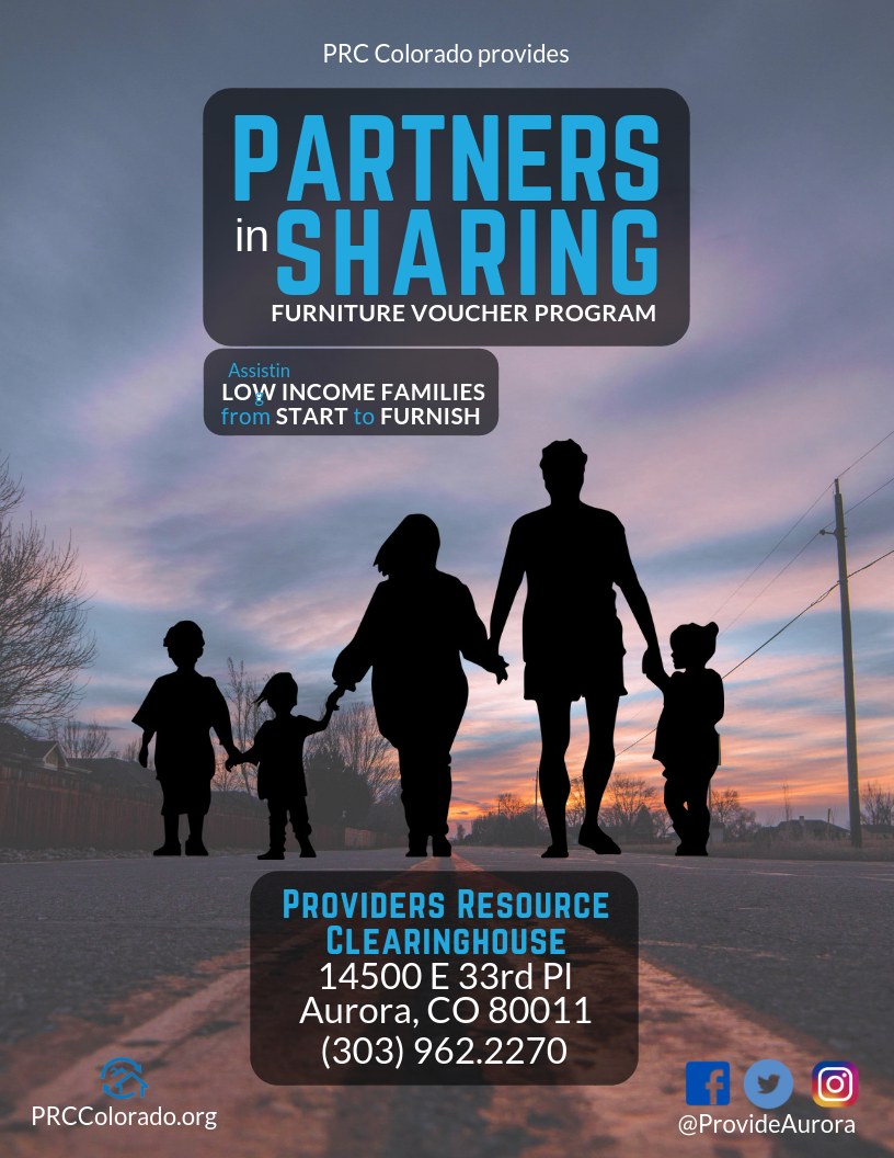 Partners in Sharing - Low Income Families - 8.5x11