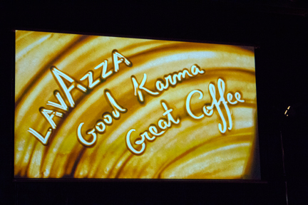 screen shot photograph lavazza good karm good coffee