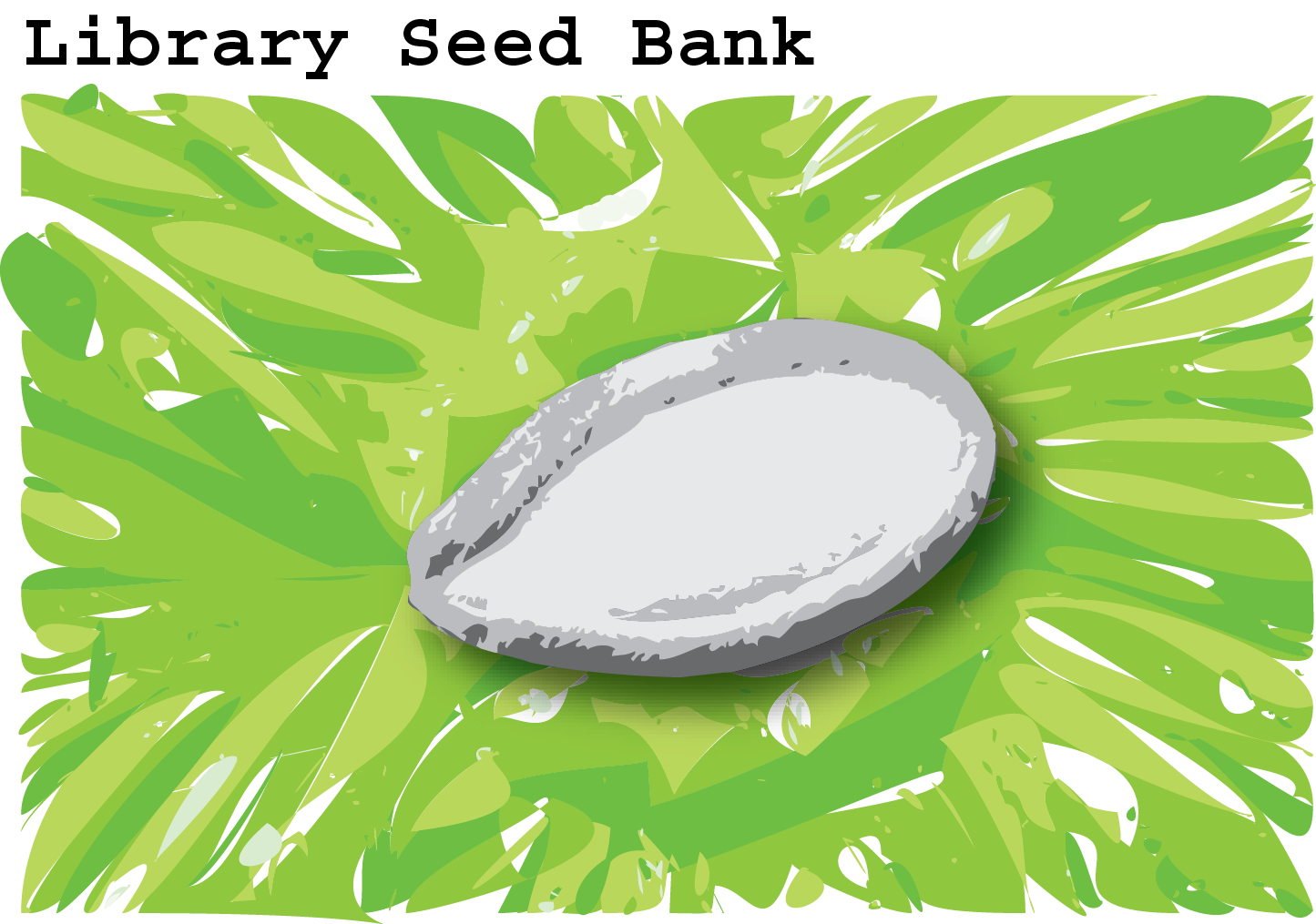 Library Seed Bank Icon