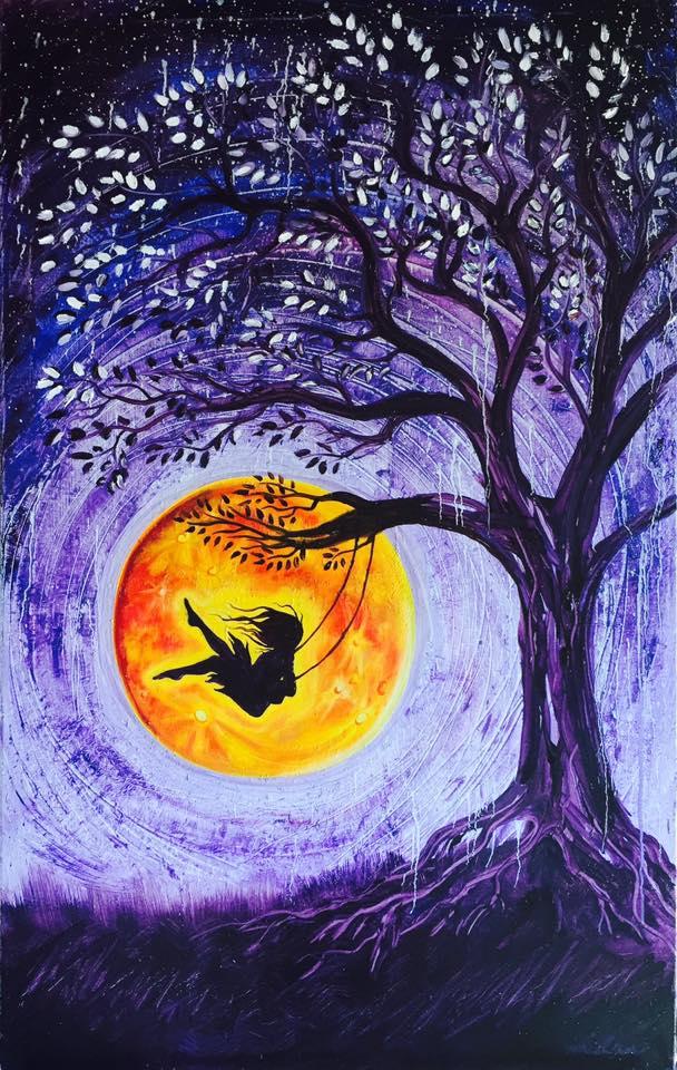 An Orange Evening  by Robbie Lindmark