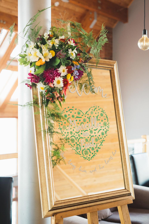 Wedding Mirror Design