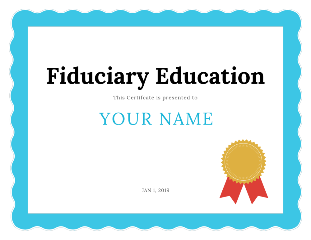 Fiduciary Edu - Cert icon.png