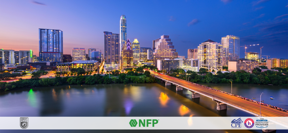 2019 AUSTIN - HEALTHCARE AND RETIREMENT PLAN SUMMITPART OF THE RETIREMENT PLAN ROAD SHOW