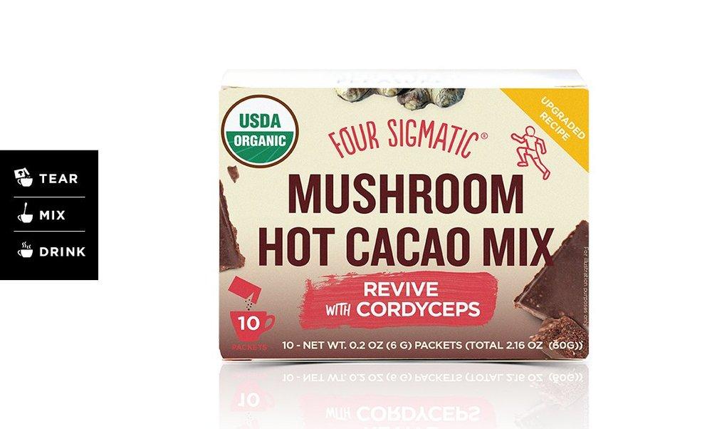 Four Sigmatic — Mushroom Hot Cacao with Cordyceps