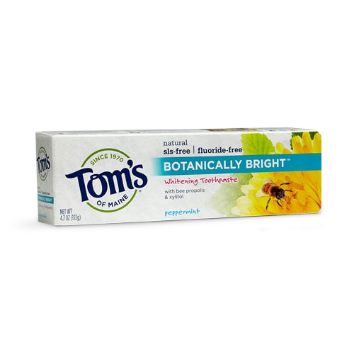Tom's toothpaste, no fluoride toothpaste, nontoxic oral hygiene, oral care, the platform podcast, kelli tennant