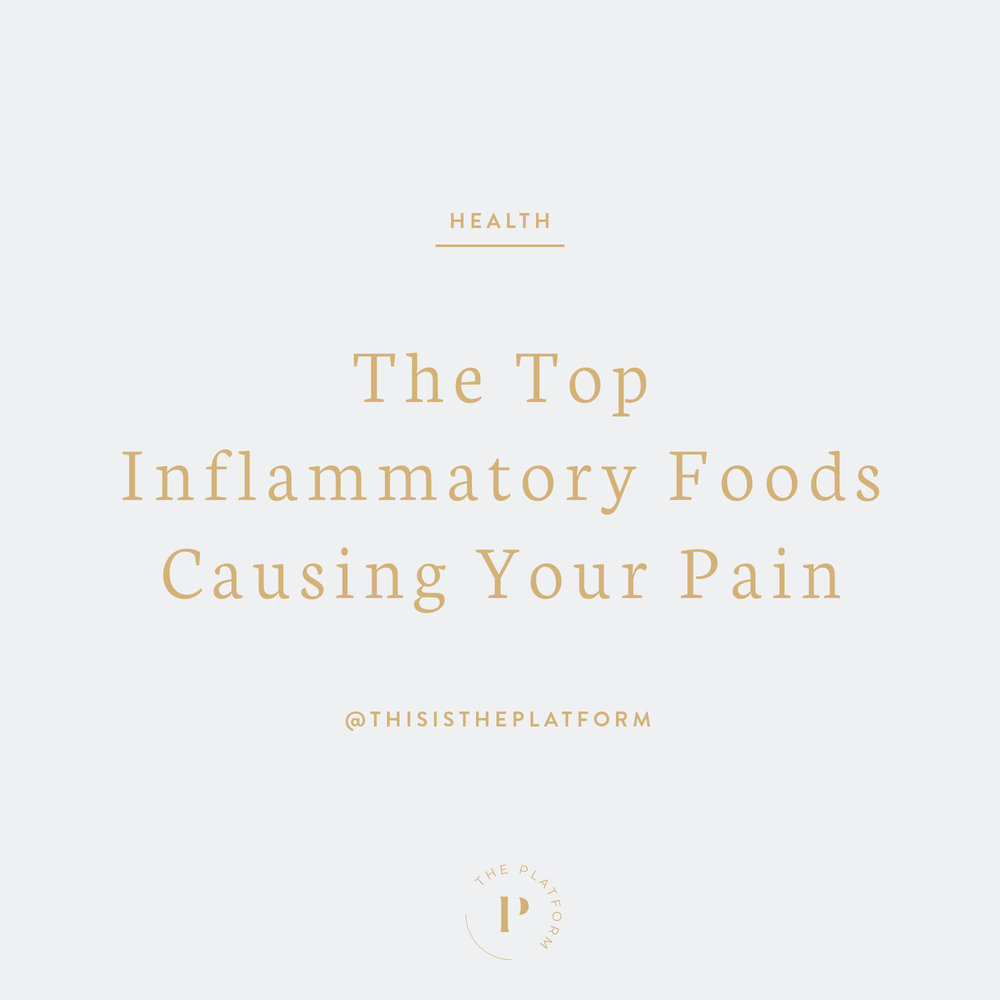 The Platform Podcast by Kelli Tennant, The top inflammatory foods causing your pain, autoimmune disease, autoimmune illness, chronic pain, chronic inflammation