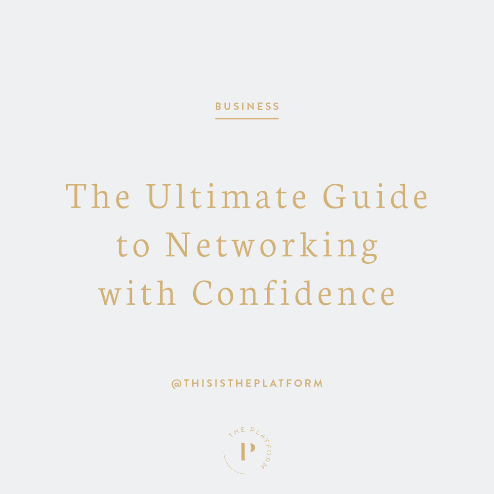 The Platform Podcast Blog Post — The Ultimate Guide to Networking with Confidence, by Kelli Tennant, how to network, mentorship, mentors, how to find a mentor, network your way to success, networking skills, business advice and tips,