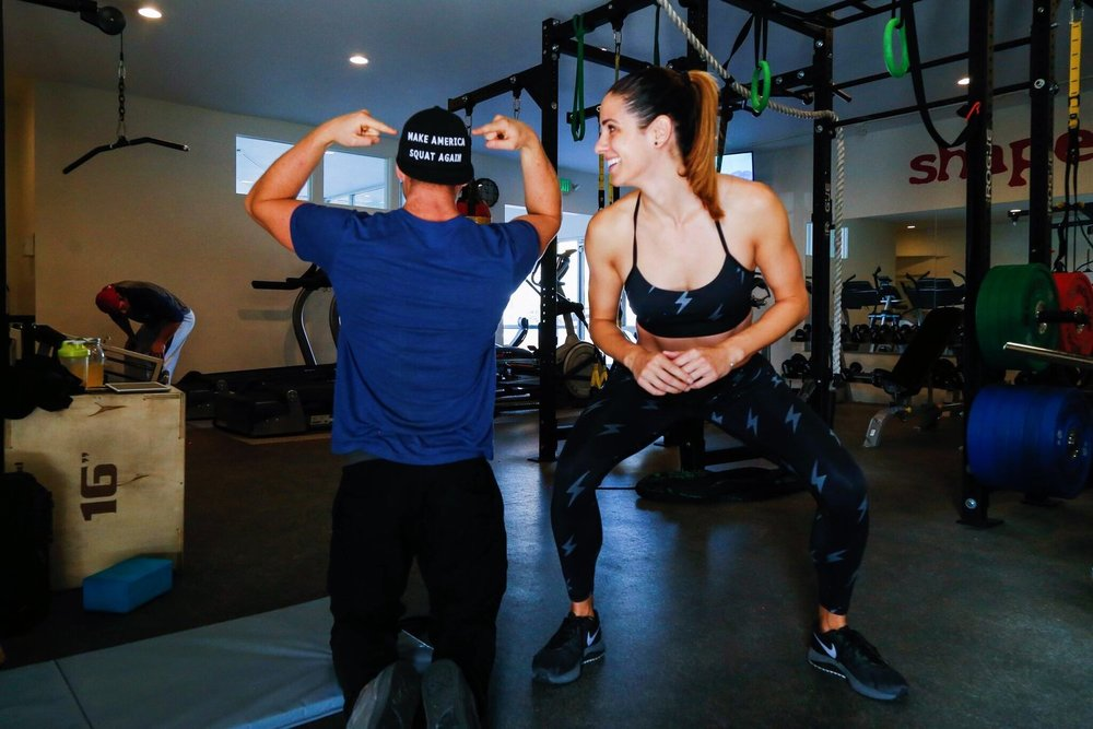 kelli tennant the platform podcast blog, health and wellness, movements and work outs with ryan hodge, personal trainer and founder of kinection, healthy and fit