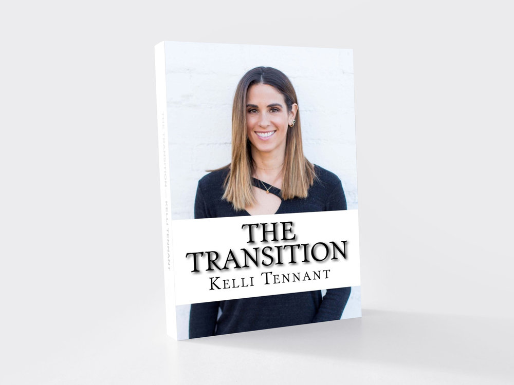 the transition by kelli tennant, life after sports, My journey from sports into the real world wasn't easy. It was full of hardship, pain, identity loss, depression and fear. The Transition is every athlete's guide to life after sports.