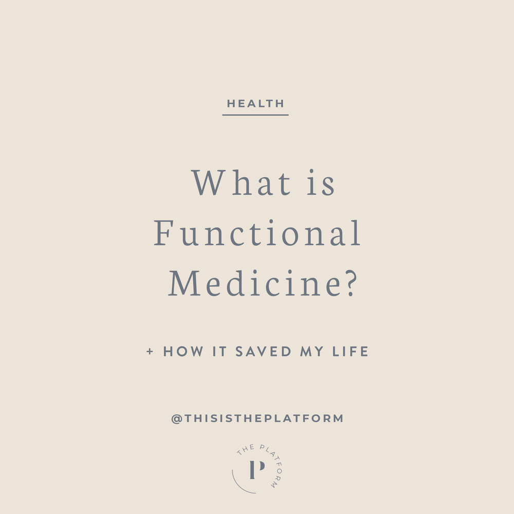 what is functional medicine? the platform podcast blog with kelli tennant; Functional medicine gets to the root of your issues. Doctors trained in functional or naturopathic medicine believe in treating the problem rather than masking the symptoms. what sets functional doctors apart from conventional doctors