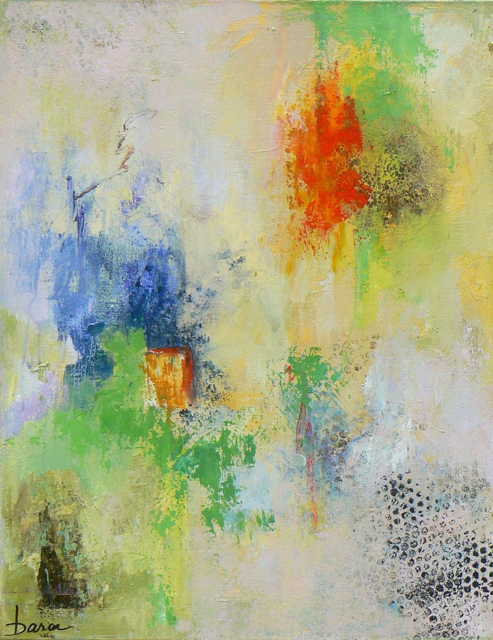"Windows of Opportunity   24 x 30"" Acrylic on Canvas"