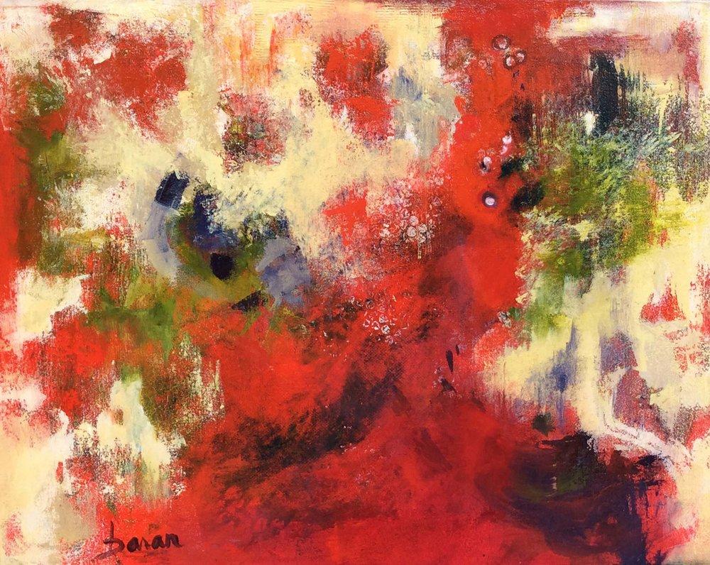 "Sol Spots   24 x 30"" Acrylic on Canvas"