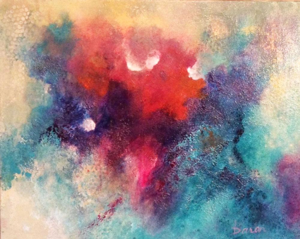 """Hidden Truths   24 x 30"""" Acrylic on Canvas"""