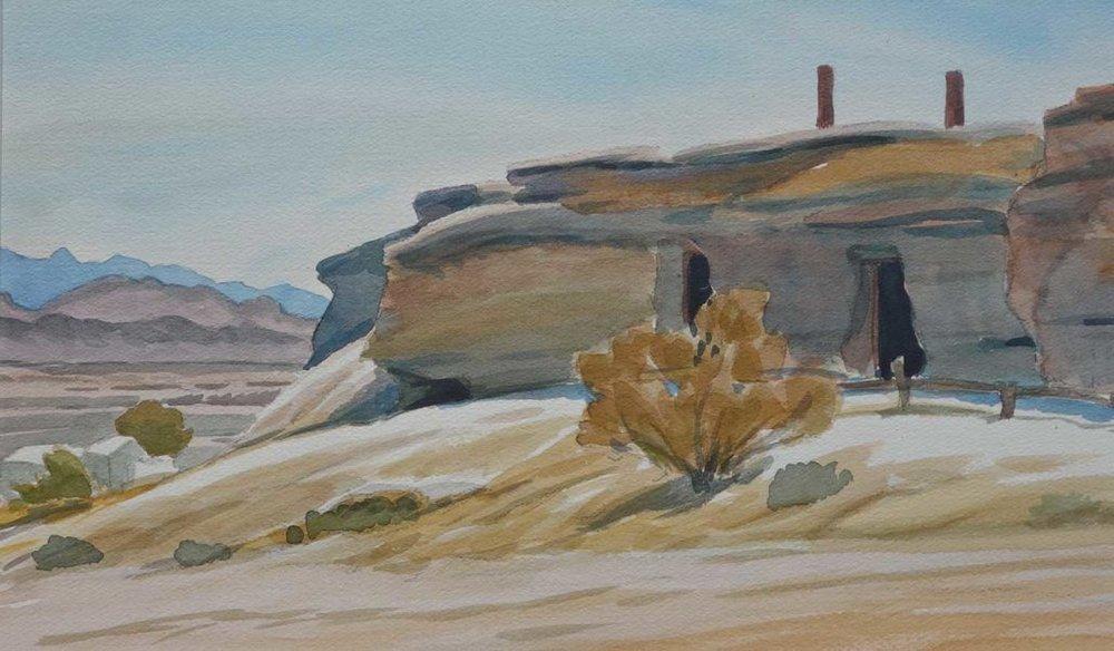 Miner's Dwelling, Shoshone