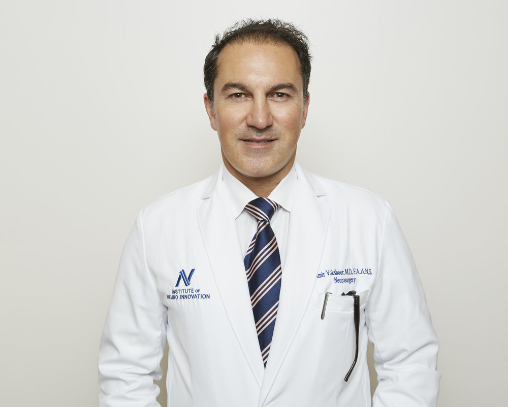 Who we ARe - Learn about Neurovella from our founder, Amir Vokshoor, MD, Neurosurgeon.