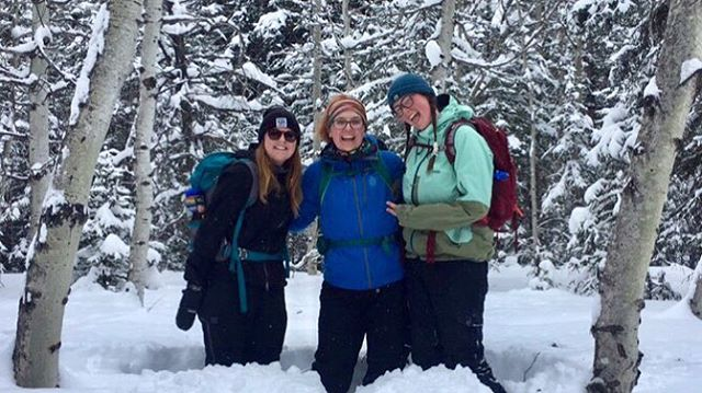 #throwback to thigh-deep snow and somehow never getting a full squad photo 🤷🏼♀️ #DIPMarshall