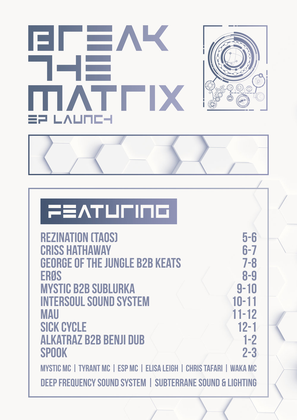 break the matrix EP launch.jpg