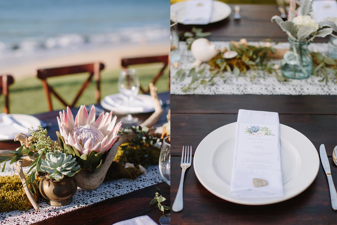 T+S table setting