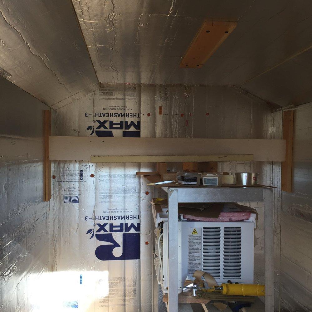 Inside of the new Flower Cooler 🌸