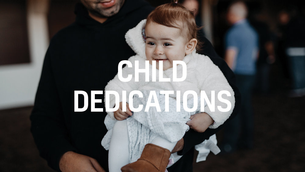 Life Center | Child Dedications