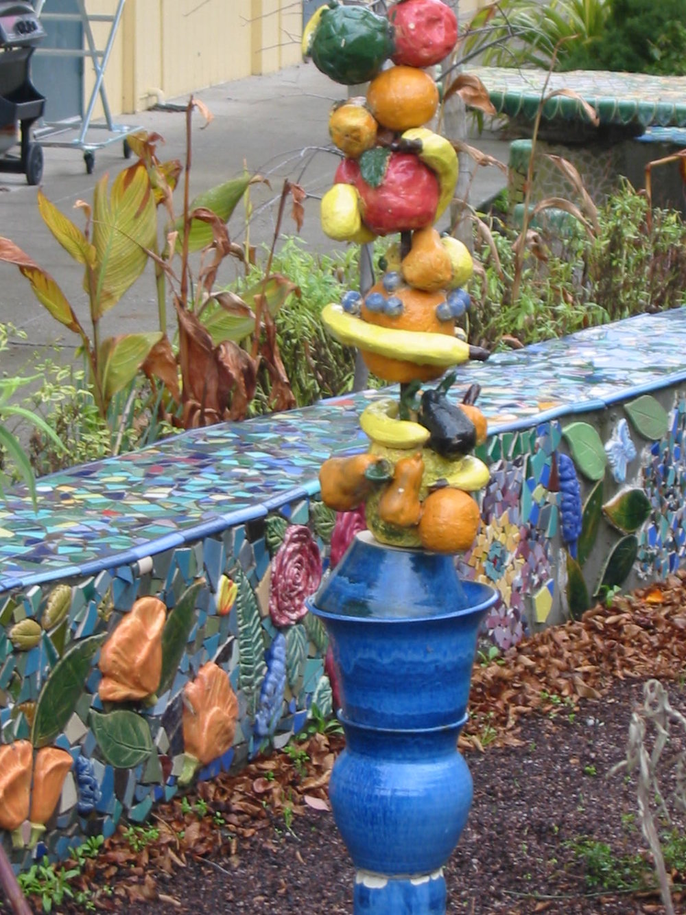 sculpture in the Art Garden