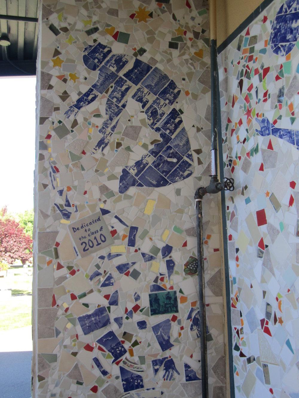 Student Activities mural