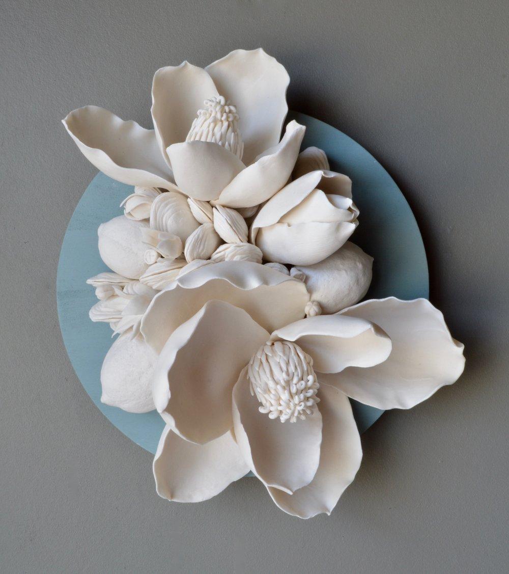 Malia Landis porcelain paper clay
