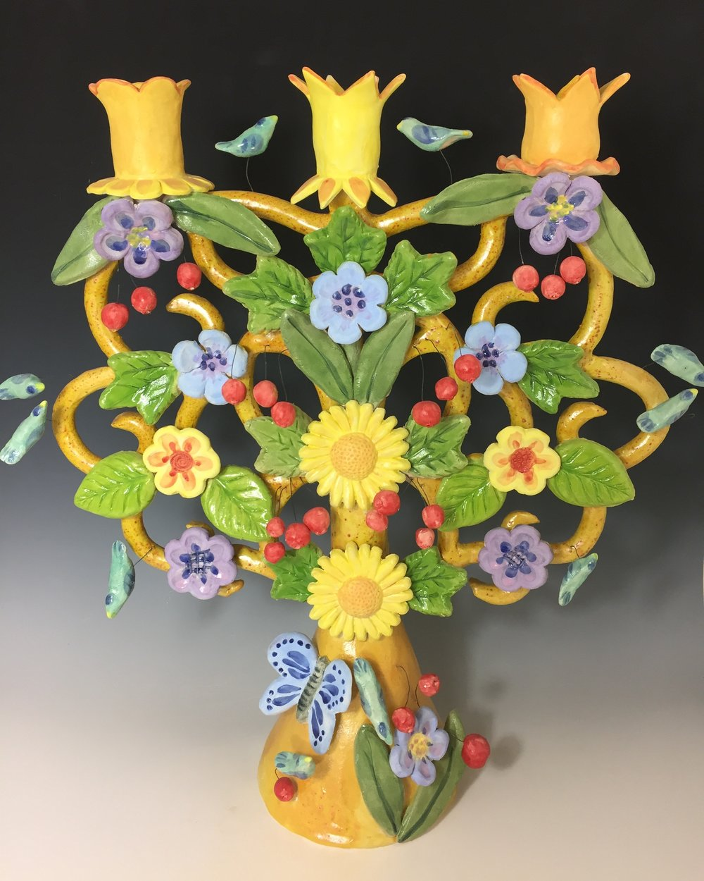 This is my first Tree of Life candelabra. It's sold!
