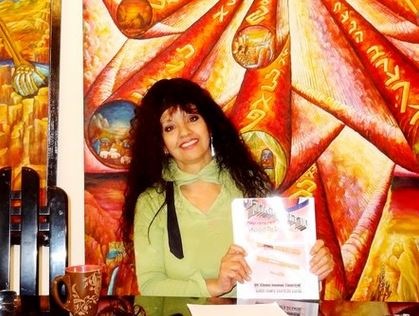About - Learn more about Siona and her Spiritual Advisement sessions.