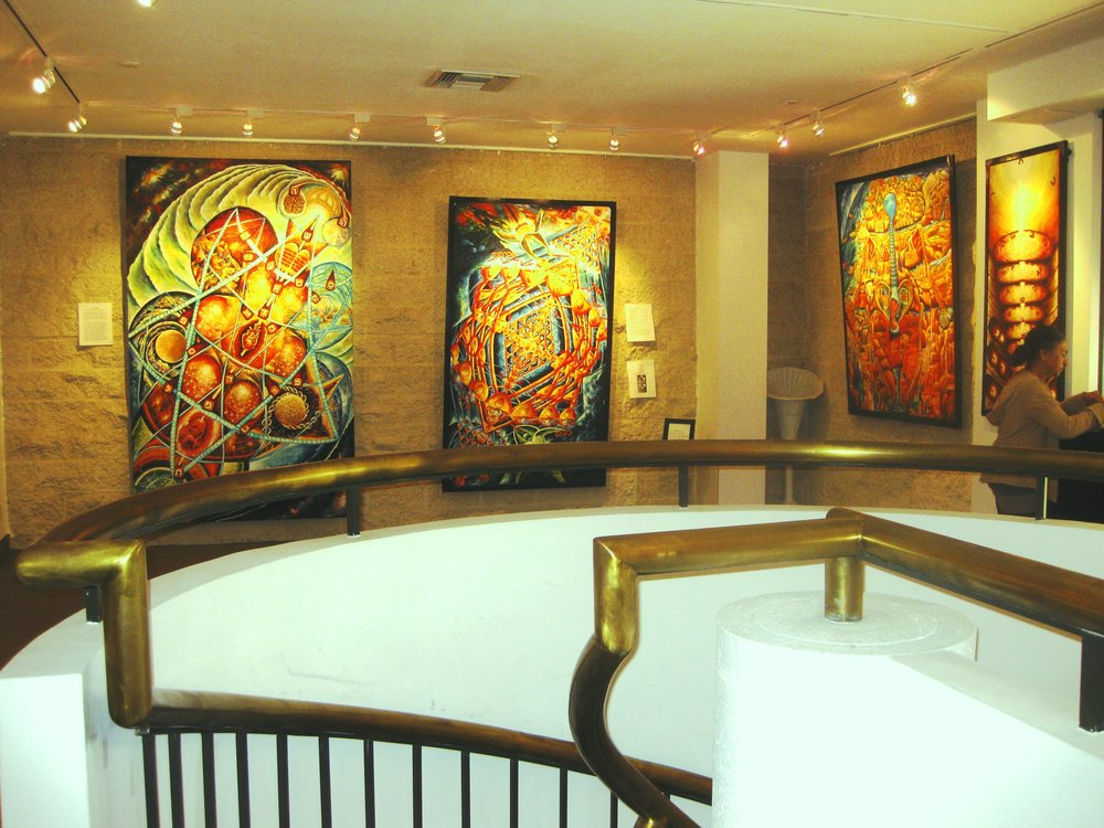 Gallery - Explore Siona's Kabbalistic oil paintings.