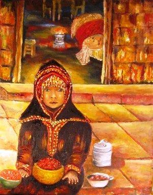 Little Yeminite Girl (SOLD)