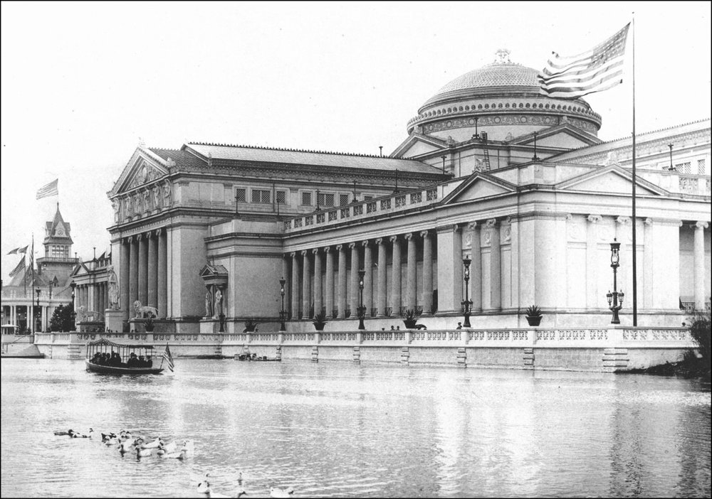 The Palace of Fine Arts. 1893 World Columbian Exposition