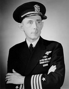 Captain Daniel Gallery, Commander of the USS Guadalcanal.