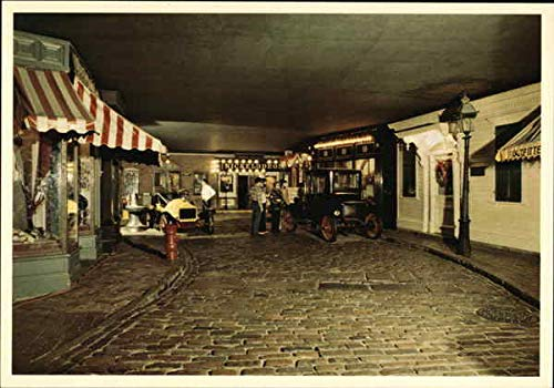 """The """"Yesterday's Main Street"""" exhibit, where the ghost of H. H. Holmes is said to stroll."""