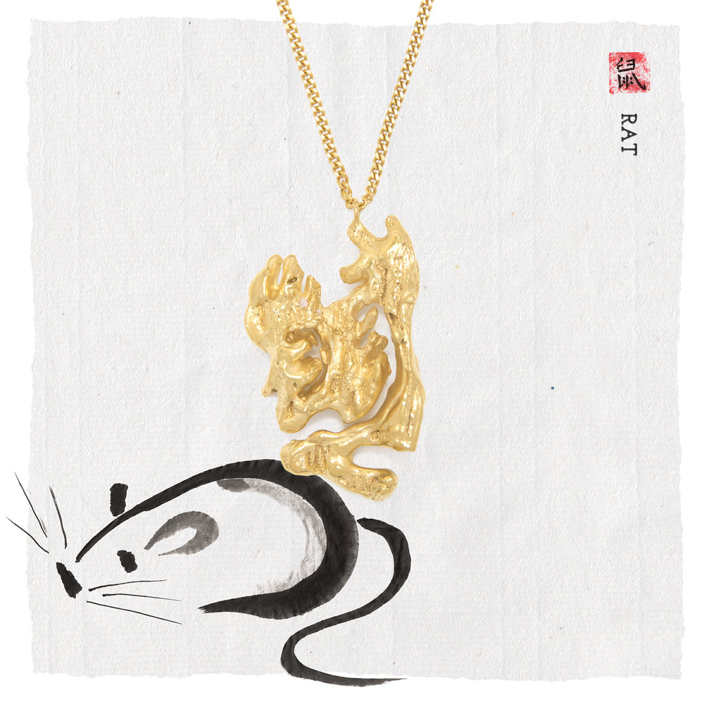 Loveness Lee Chinese Zodiac New Year Collection p2 Rat