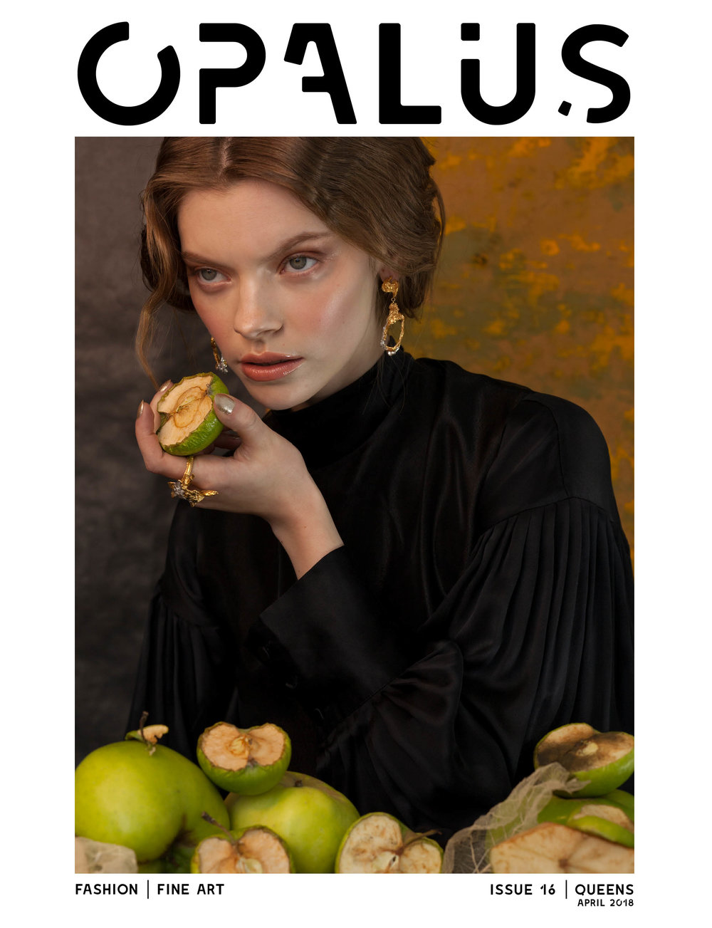 Loveness Lee Cephas and Solstice Featuring on the front cover of Opalus magazine