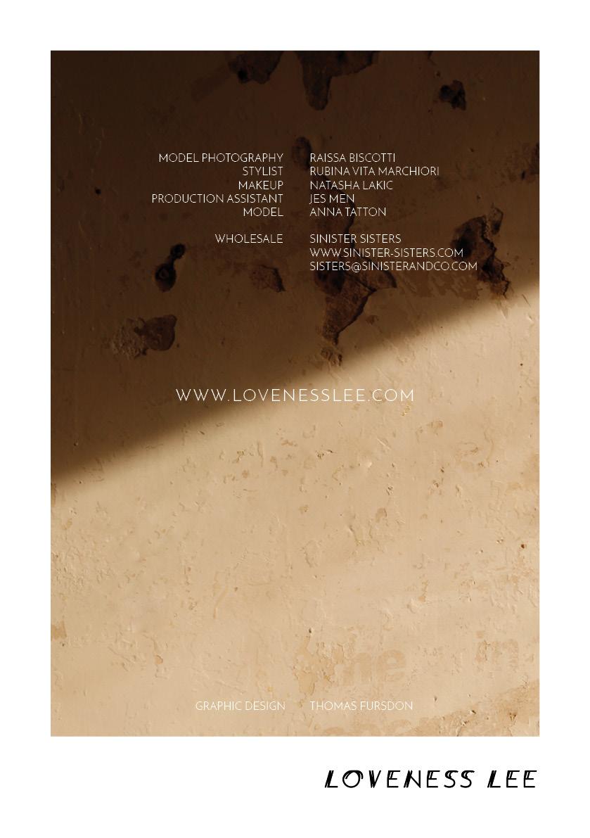 Loveness Lee Hermetics Collection Lookbook p10