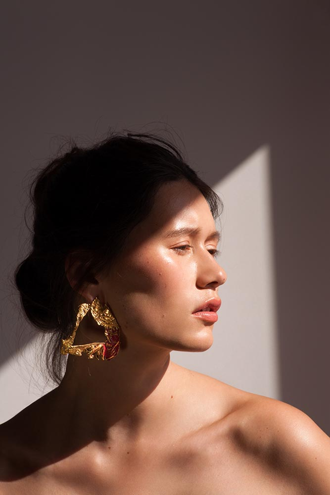 Loveness Lee Ame-soeur Earrings