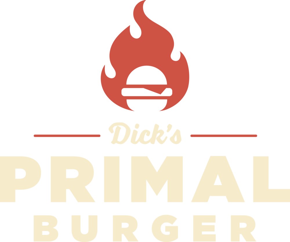 Dick's Primal Burger Logo | Portland, Oregon