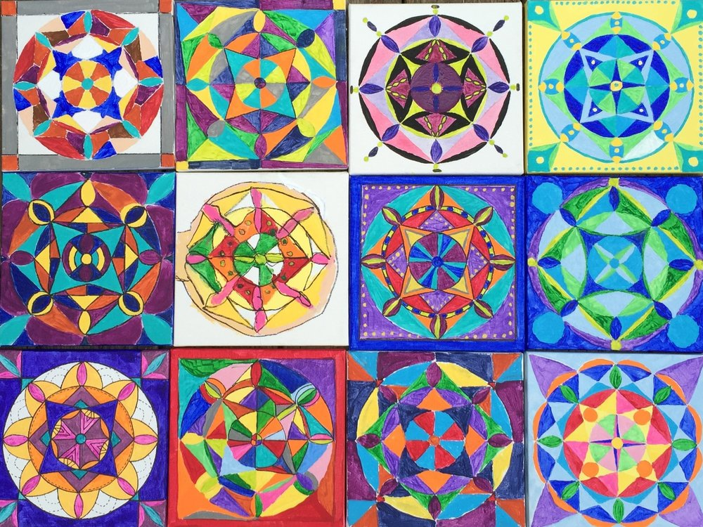 Mandala Painting -