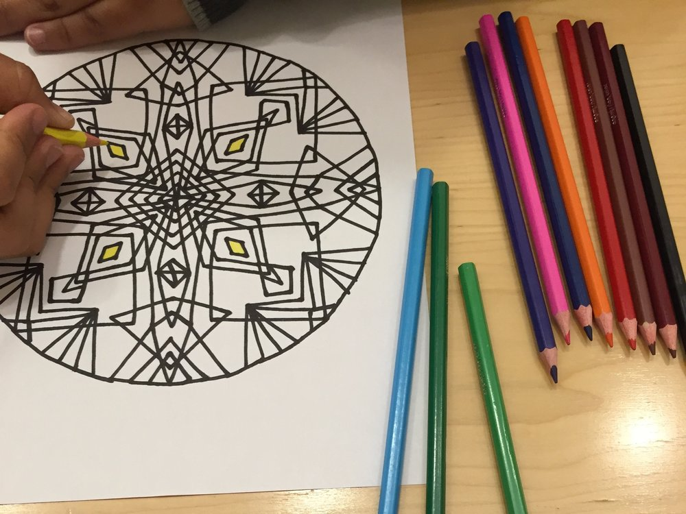Mandala Drawing -