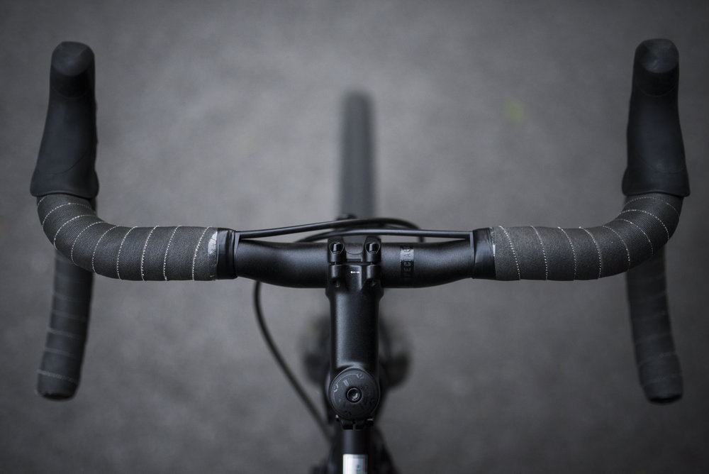 The Transition is where you place your bike and gear