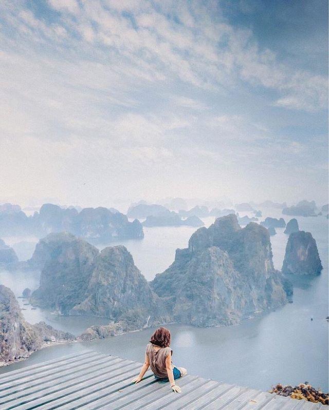 It was all a dream • ✨@monikamazur__ . . . . . . . . .. #vietnam #halongbay  #passionpassport #darlingescapes #womenwhoexplore #wanderluster #sheisnotlost #seetheworld #traveladdict #roamtheplanet #gapyear #beautifuldestination #createcommune #solotravel #liveyourbestlife  #wanderlusting  #passportready #nomadlife #natgeotravel #dametraveler #travelawesome #natgeoyourshot #exploretocreate #seasia #traveldeeper #travelstoke #lonelyplanet #backpackers #travelbug #exploremore