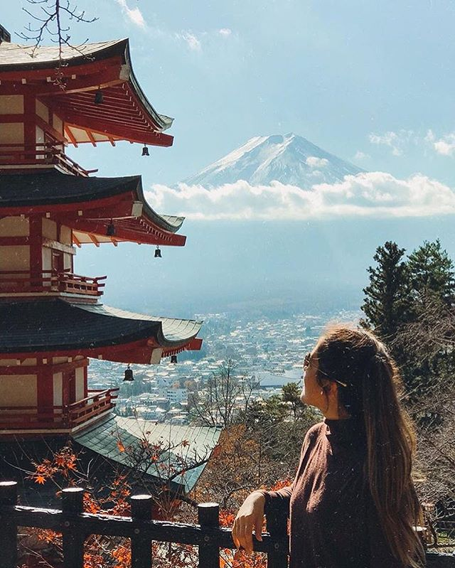 You won't believe your eyes • 📸 @finding.steph . . . . . . .  #japan #dametraveler  #passionpassport #livefolk #ventureout #worlderlust #adventureculture #seetheworld #traveladdict #roamtheplanet #welltravelled #earthofficial #girlsabroad #sheisnotlost #unesco #travelcouple  #passportready #femmetravel #natgeotravel #wanderlust #travelawesome #dreamdestination #bbctravel #radgirlslife #traveldeeper #travelstoke #lonelyplanet #nippon #travelbug #letsgoeverywhere
