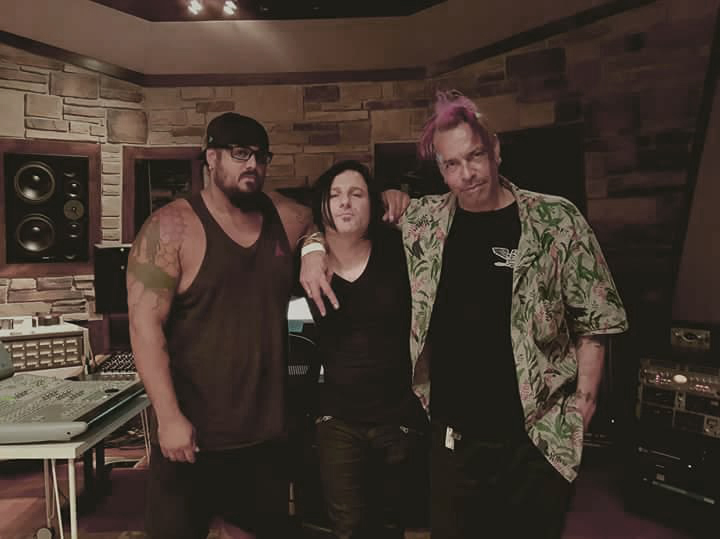 - Tracking vocals and bass with Chuck Mosley and Lex Justice -Annex, Utah