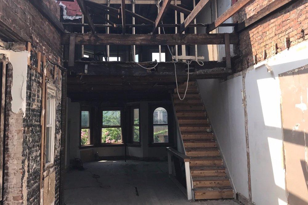 deconstruction + Renovation -