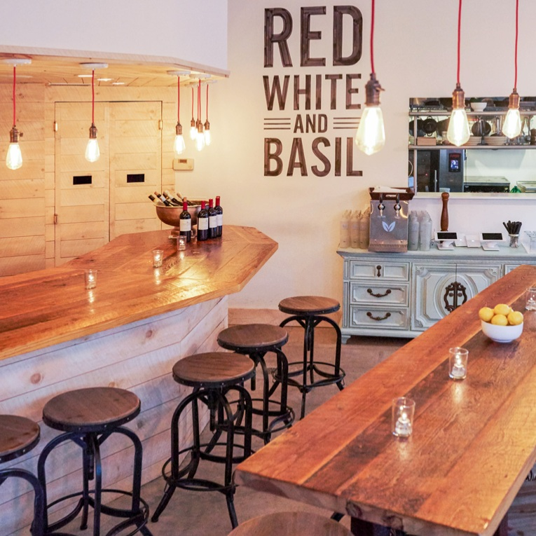 Red White and Basil Restaurant